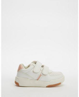 Cotton On Kids - Retro Tennis Trainers   Kids - Sneakers (Marshmallow Gum) Retro Tennis Trainers - Kids