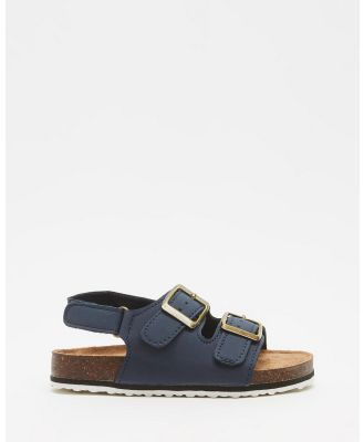 Cotton On Kids - Theo Sandals   Kids - Casual Shoes (Navy Blazer) Theo Sandals - Kids