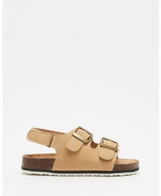 Cotton On Kids - Theo Sandals   Kids - Casual Shoes (Stone) Theo Sandals - Kids