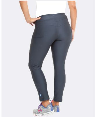 Curvy Chic Sports - Active 3 4 Tights - Sports Tights (Black) Active 3-4 Tights