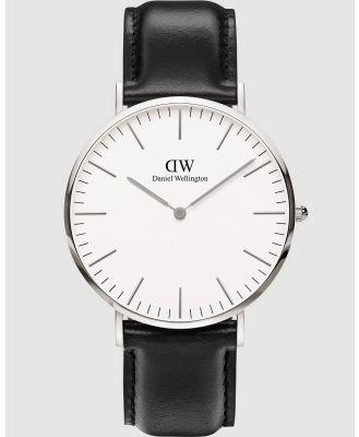 Daniel Wellington - Classic Sheffield 40mm - Watches (Silver) Classic Sheffield 40mm