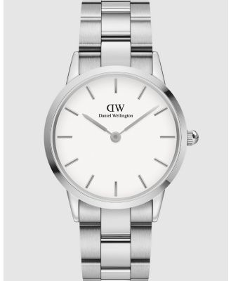 Daniel Wellington - Iconic Link 36mm - Watches (Silver) Iconic Link 36mm
