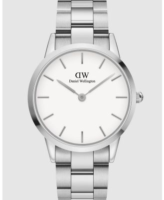 Daniel Wellington - Iconic Link 40mm - Watches (Silver) Iconic Link 40mm