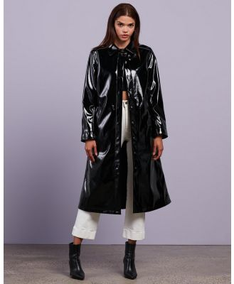 Dazie - Up Your Game Trench - Trench Coats (Black) Up Your Game Trench