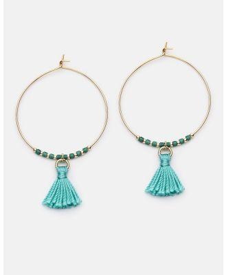 Dear Addison - Aloha Earrings - Jewellery (Green) Aloha Earrings