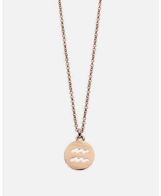 Dear Addison - Aquarius Necklace - Jewellery (Gold) Aquarius Necklace
