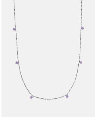 Dear Addison - Bloom Necklace - Jewellery (Purple) Bloom Necklace