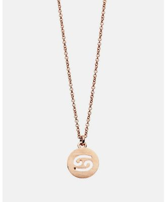 Dear Addison - Cancer Necklace - Jewellery (Gold) Cancer Necklace