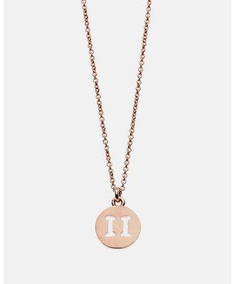 Dear Addison - Gemini Necklace - Jewellery (Gold) Gemini Necklace