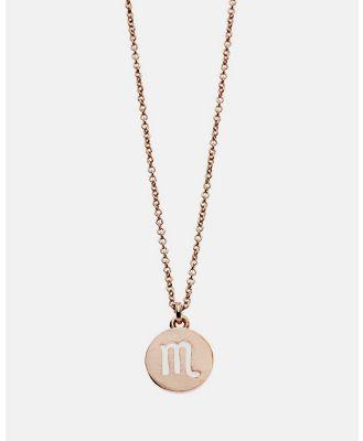 Dear Addison - Scorpio Necklace - Jewellery (Gold) Scorpio Necklace