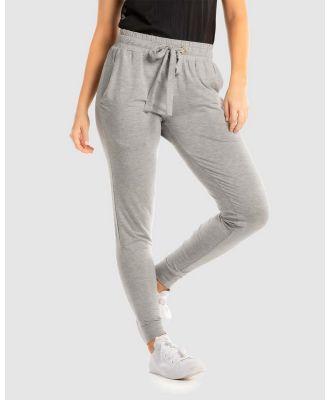 Deshabille - Wanderlust Travel Pants in Bag - Pants (Grey marle) Wanderlust Travel Pants in Bag