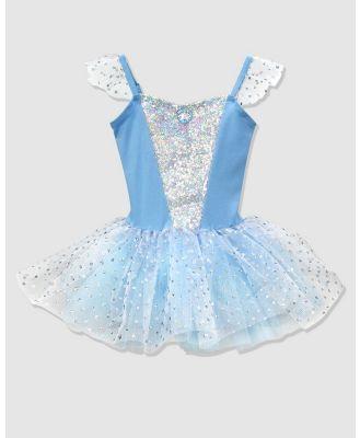 Disney Princess by Pink Poppy - Disney Princess Cinderella Tutu - Dresses (Blue) Disney Princess Cinderella Tutu
