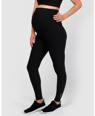 dk active - Lotus Maternity Full Length Tights - Full Tights (Black) Lotus Maternity Full Length Tights