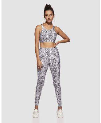 dk active - The Energy Tights - Full Tights (White) The Energy Tights