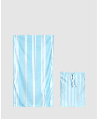 Dock & Bay - Extra Large Bath Towel 100% Recycled Home Collection - Bathroom (Blue) Extra Large Bath Towel 100% Recycled Home Collection