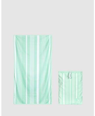 Dock & Bay - Extra Large Bath Towel 100% Recycled Home Collection - Bathroom (Green) Extra Large Bath Towel 100% Recycled Home Collection