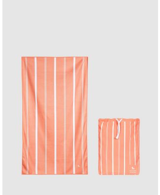Dock & Bay - Extra Large Bath Towel 100% Recycled Home Collection - Bathroom (Orange) Extra Large Bath Towel 100% Recycled Home Collection
