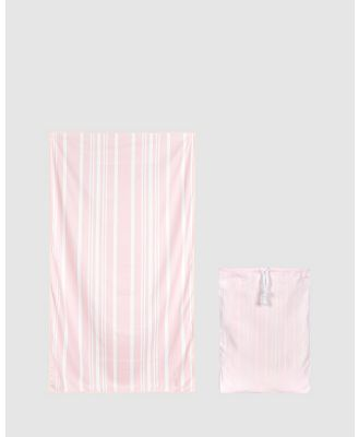 Dock & Bay - Extra Large Bath Towel 100% Recycled Home Collection - Bathroom (Pink) Extra Large Bath Towel 100% Recycled Home Collection