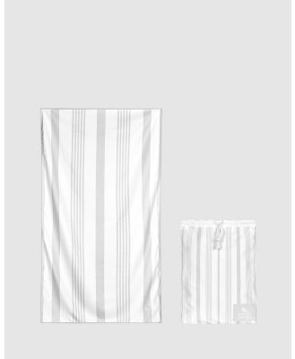 Dock & Bay - Extra Large Bath Towel 100% Recycled Home Collection - Bathroom (White) Extra Large Bath Towel 100% Recycled Home Collection