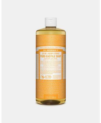 Dr Bronner's - Pure Liquid Castile Soap Citrus 946ml - Beauty (Citrus) Pure Liquid Castile Soap Citrus 946ml