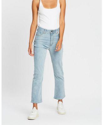 DRICOPER DENIM - Freebie Flare Jeans - Crop (Sun Bleached) Freebie Flare Jeans