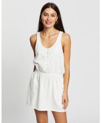 DRICOPER DENIM - Oria Linen Dress - Dresses (Crispy White ) Oria Linen Dress