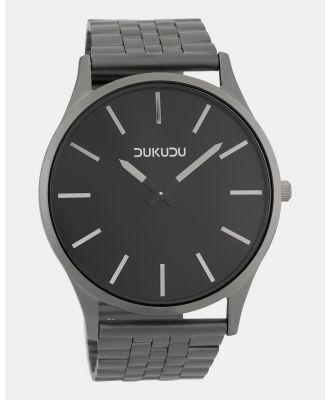 DUKUDU - Elias 45mm - Watches (Dark Titanium) Elias 45mm