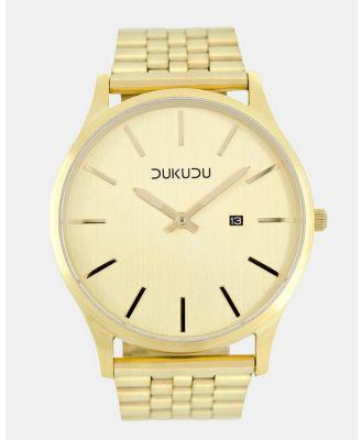DUKUDU - Gregor 45mm - Watches (Gold) Gregor 45mm