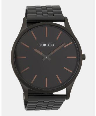 DUKUDU - Magnus 45mm - Watches (Matt Black) Magnus 45mm