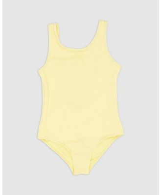Duskii - Amelie Scoop One Piece   Teens - All gift sets (Canary Yellow) Amelie Scoop One-Piece - Teens