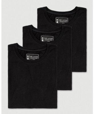 DVNT - 3 Pack Devoid Premium Tee - T-Shirts & Singlets (BLACK) 3 Pack Devoid Premium Tee