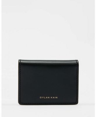 Dylan Kain - The Stones Card Holder - Wallets (Black) The Stones Card Holder