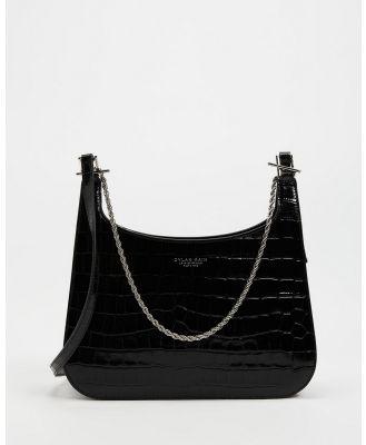Dylan Kain - Yohana Croc Effect Bag - Handbags (Silver) Yohana Croc-Effect Bag
