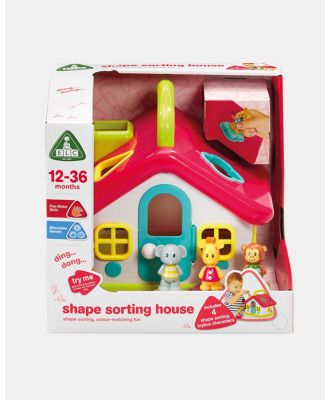 Early Learning Centre - Toybox Shape Sorting House - Developmental Toys (N/A) Toybox Shape Sorting House