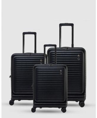 Echolac Japan - Birmingham Echolac 3 Piece Luggage Set - Travel and Luggage (RED) Birmingham Echolac 3 Piece Luggage Set
