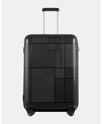 Echolac Japan - Los Angeles Echolac Large Hard Side Case - Travel and Luggage (Black) Los Angeles Echolac Large Hard Side Case