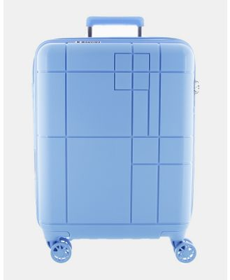 Echolac Japan - Los Angeles Echolac Large Hard Side Case - Travel and Luggage (BLUE) Los Angeles Echolac Large Hard Side Case