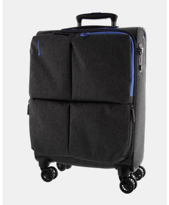 Echolac Japan - Serpentine Echolac Large Soft Side Case - Travel and Luggage (Grey Blue) Serpentine Echolac Large Soft Side Case