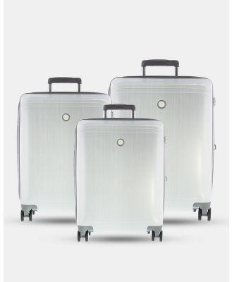 Echolac Japan - Singapore Echolac 3 Piece Set - Travel and Luggage (white) Singapore Echolac 3 Piece Set