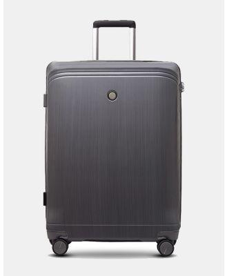 Echolac Japan - Singapore Echolac Large Hard Side Case - Travel and Luggage (BLACK) Singapore Echolac Large Hard Side Case