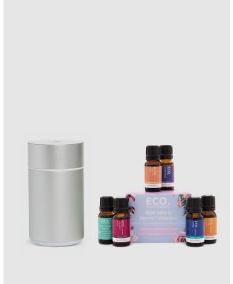 ECO. Modern Essentials - ECO. Nebulizing Diffuser & Best selling Blends Collection - Home (ECO. Nebulizing Diffuser & Best-selling Blends Collection) ECO. Nebulizing Diffuser & Best-selling Blends Collection
