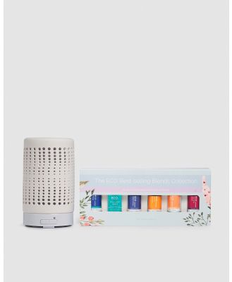 ECO. Modern Essentials - ECO. Tranquil Diffuser & Best Selling Blends Collection - Home (ECO. Tranquil Diffuser & Best-Selling Blends Collection) ECO. Tranquil Diffuser & Best-Selling Blends Collection