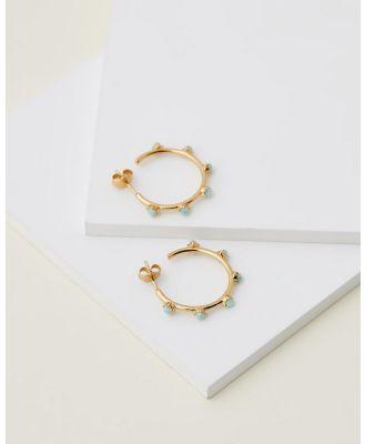 EL&RO - Faith Hoops - Jewellery (Gold) Faith Hoops