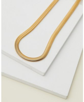 EL&RO - Viper Snake Necklace - Jewellery (Gold) Viper Snake Necklace