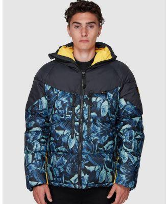 Element - Griffin Light Down Puffa Jacket - Coats & Jackets (LEAF CAMO) Griffin Light Down Puffa Jacket