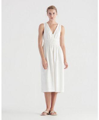 Elka Collective - Harper Dress - Dresses (White) Harper Dress