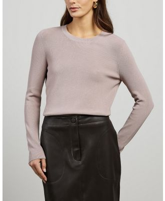 Elka Collective - Nautico Knit - Jumpers & Cardigans (Rose) Nautico Knit