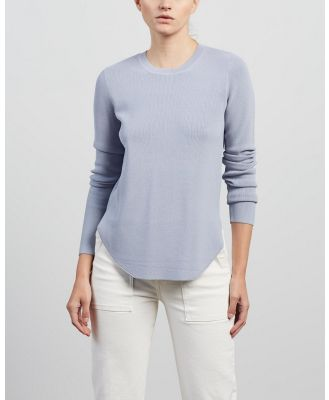 Elka Collective - Nautico Knit - Jumpers & Cardigans (Sky Blue) Nautico Knit