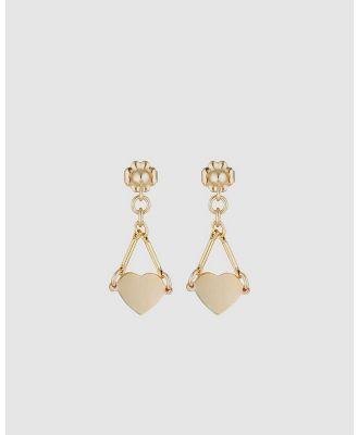Elvis et Moi - Heart - Jewellery (Gold) Heart