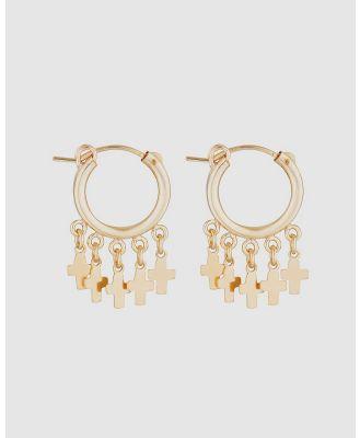 Elvis et Moi - Zeus Cross - Jewellery (Gold) Zeus Cross